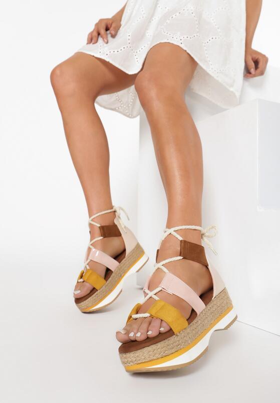 Żółte Sandały Iagow