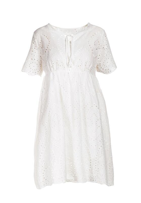 Biała Sukienka Corilise
