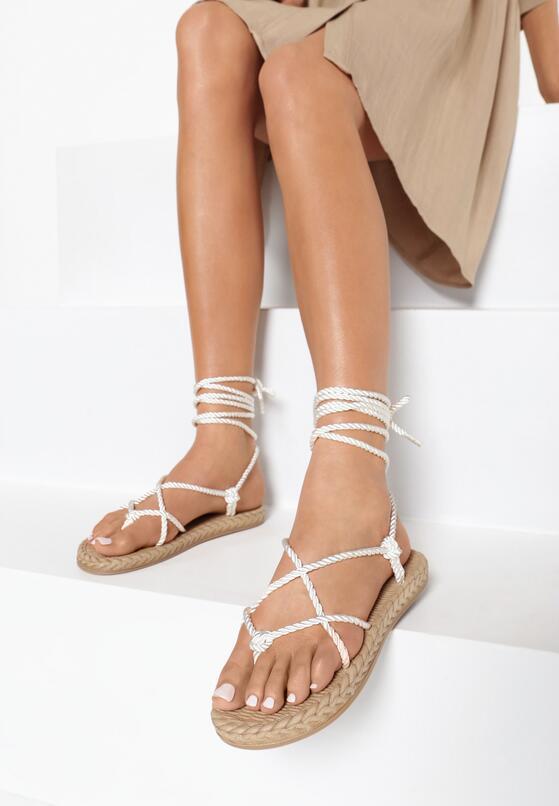 Białe Sandały Eirereida
