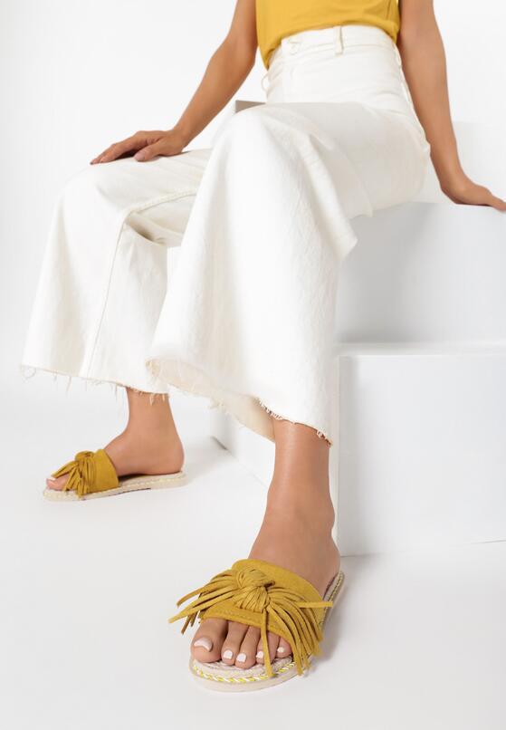 Żółte Klapki Coraelise