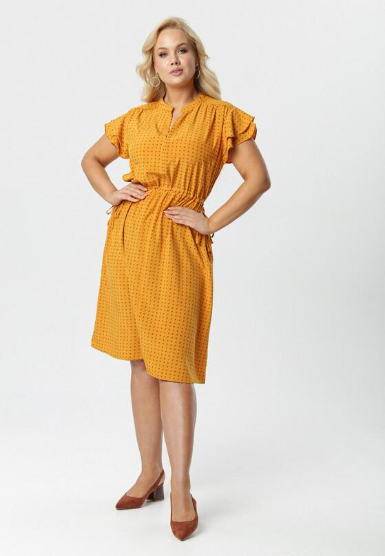 Żółta Sukienka Melilacia