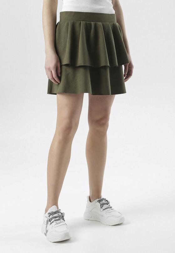 Khaki Spódnica Limosia