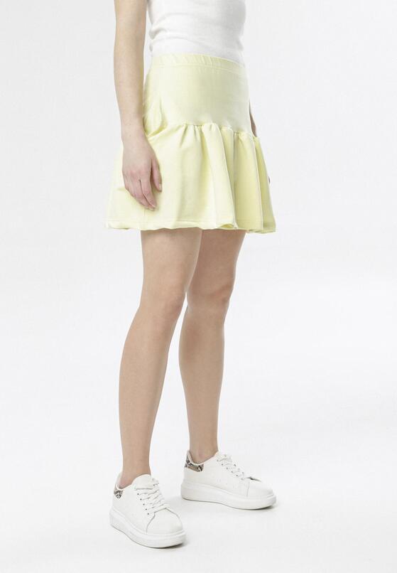 Jasnożółta Spódnica Nasura