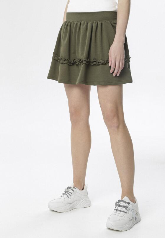 Khaki Spódnica Brinora