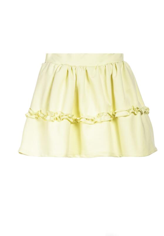 Jasnożółta Spódnica Brinora