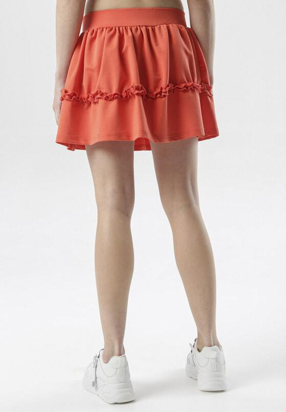 Pomarańczowa Spódnica Brinora