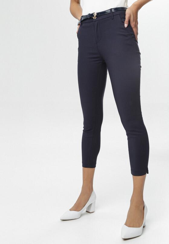 Granatowe Spodnie Nanah