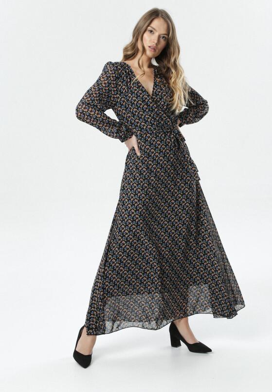 Czarna Sukienka Pheronei