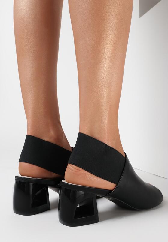 Czarne Sandały Ilasis
