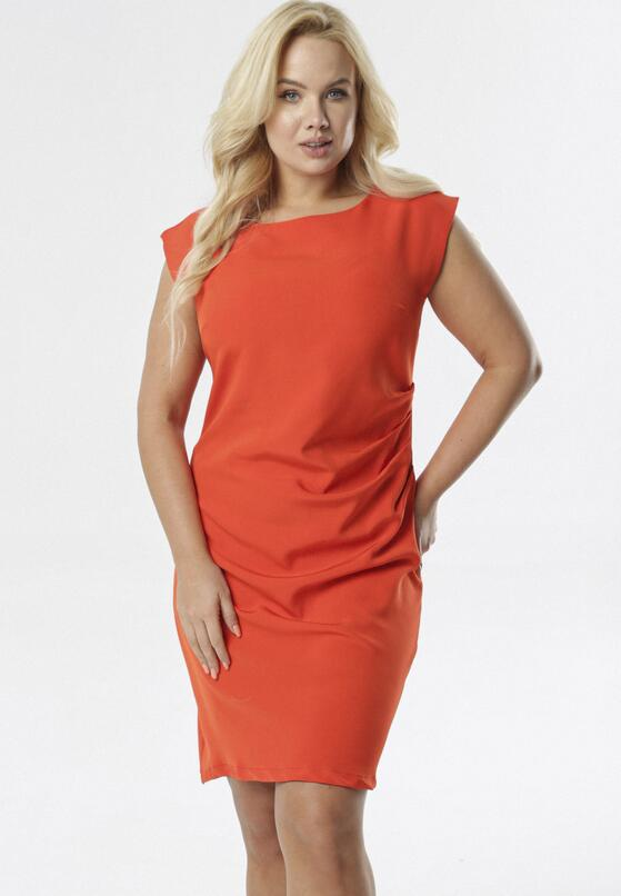 Czerwona Sukienka Mellobel