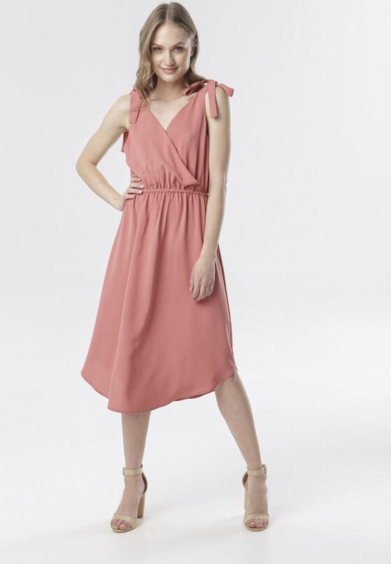 Różowa Sukienka Aquirith