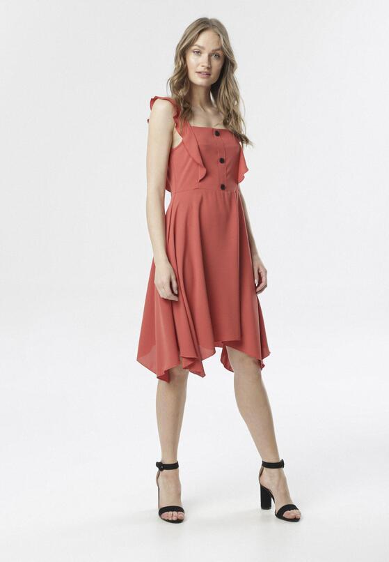 Czerwona Sukienka Callala