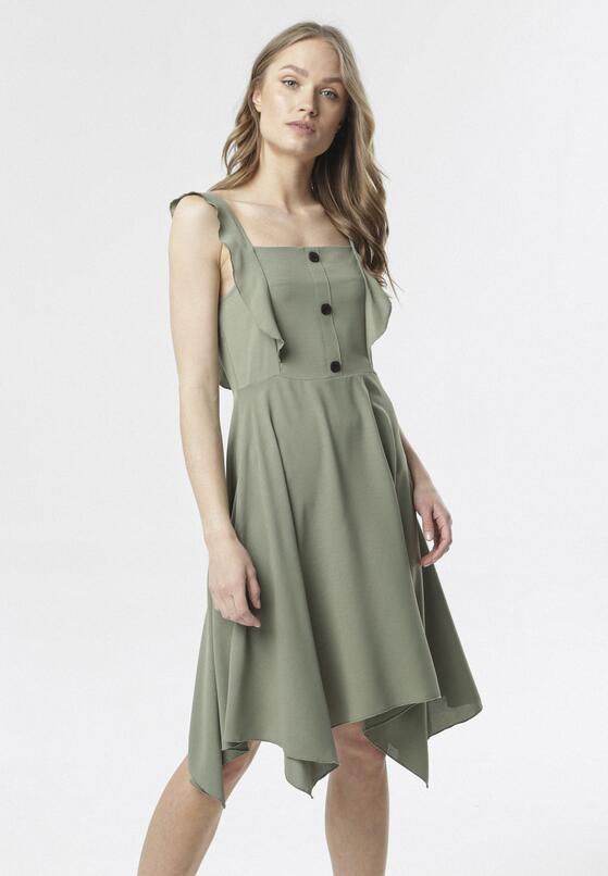 Zielona Sukienka Callala