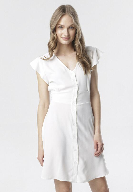 Biała Sukienka Corearia