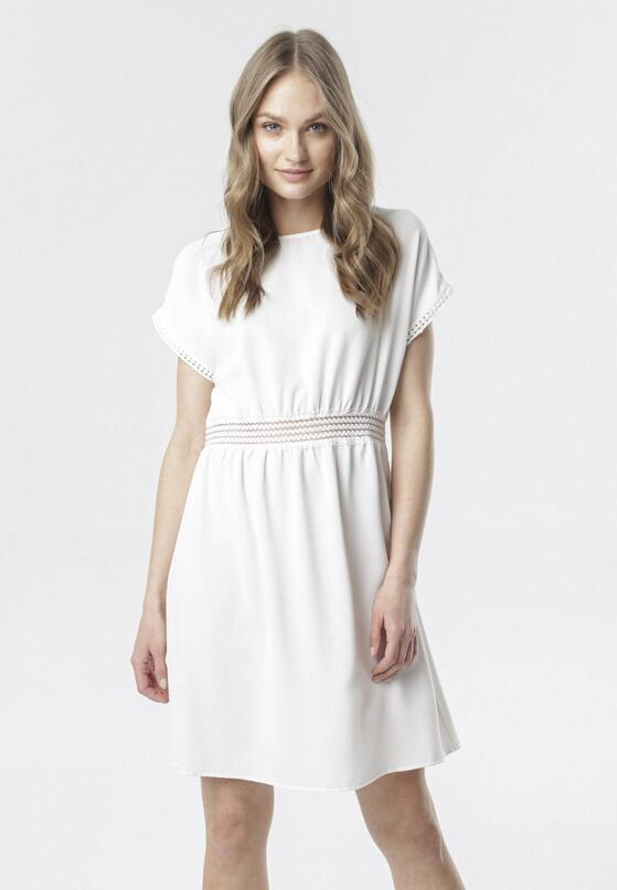 Biała Sukienka Aquadenah