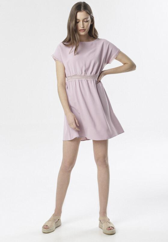 Jasnofioletowa Sukienka Aquadenah