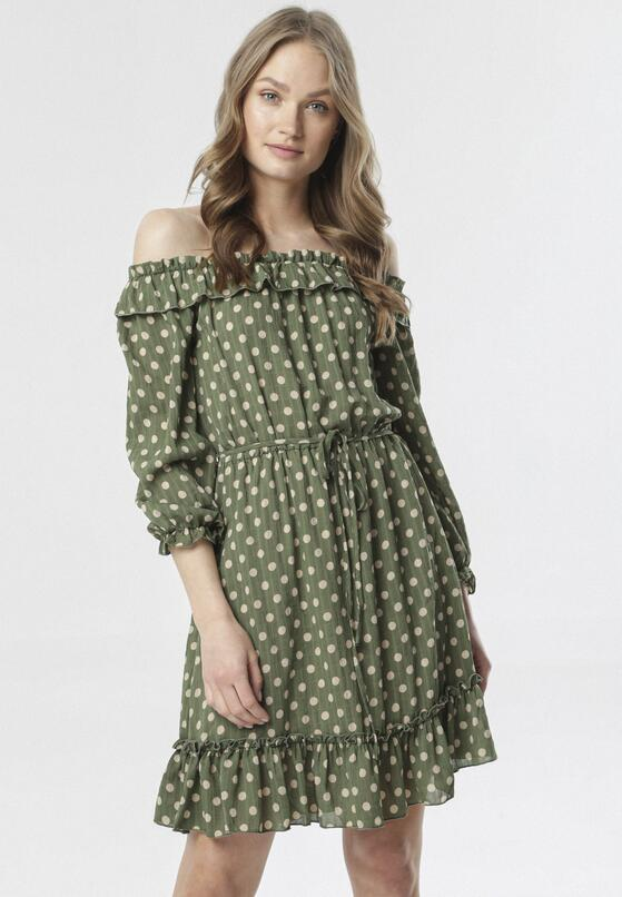 Zielona Sukienka Pereineira