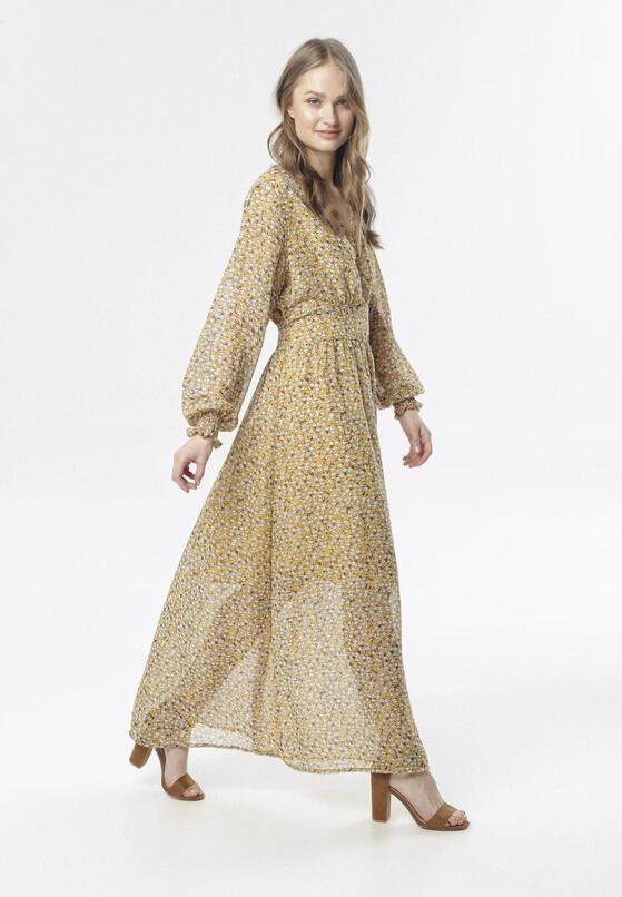 Żółta Sukienka Aetheliana