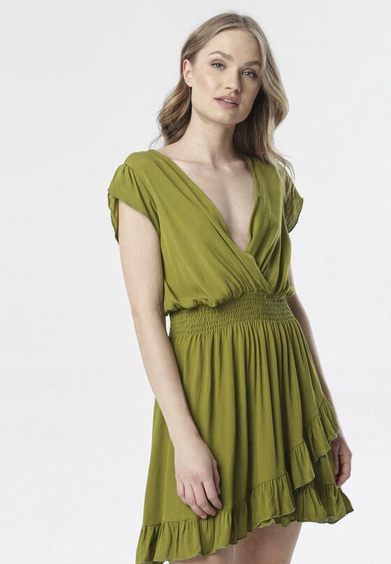 Zielona Sukienka Aethethea
