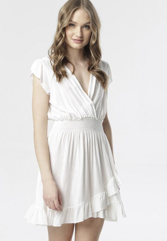 Biała Sukienka Aethethea