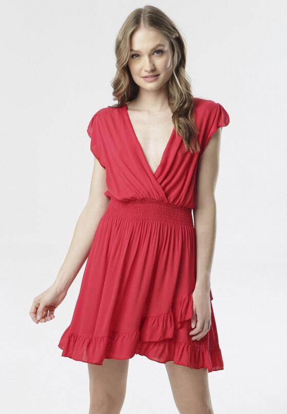 Czerwona Sukienka Aethethea