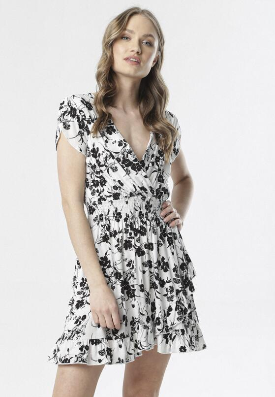 Biała Sukienka Melohaneh