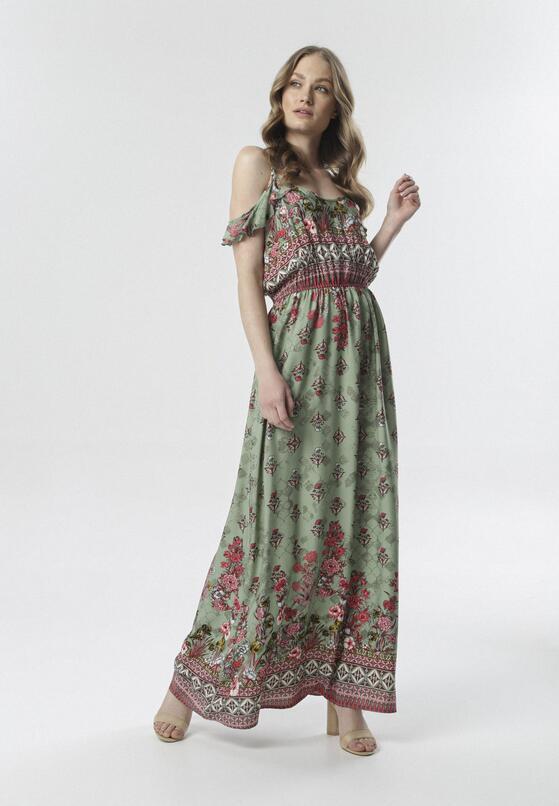 Zielona Sukienka Aerethia