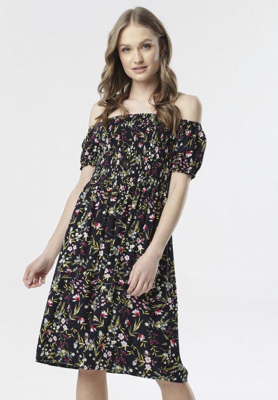 Granatowa Sukienka Lorairiel