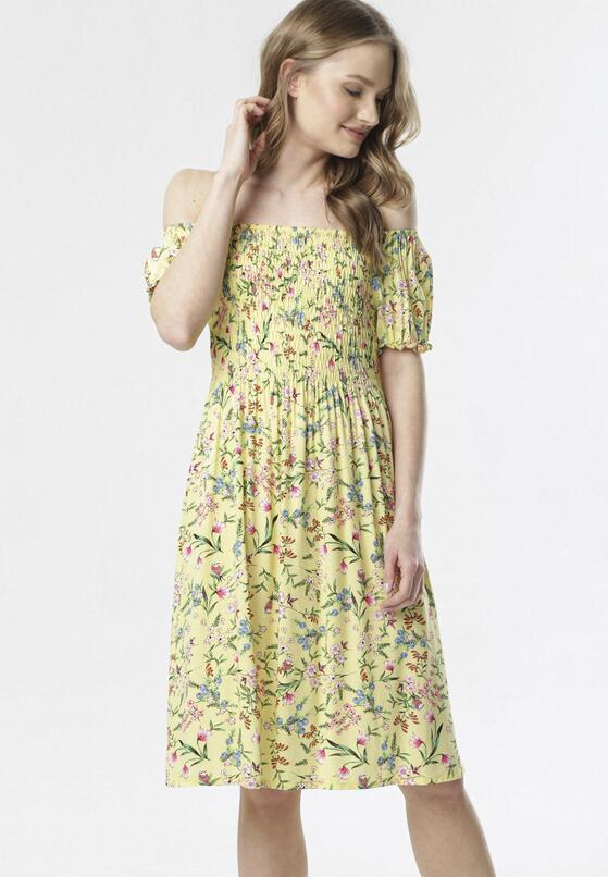 Żółta Sukienka Lorairiel