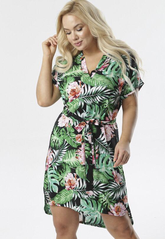 Zielona Sukienka Amalimisa