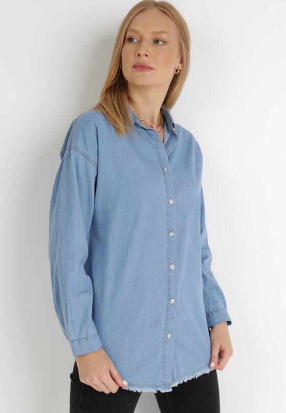 Niebieska Koszula Leuriope
