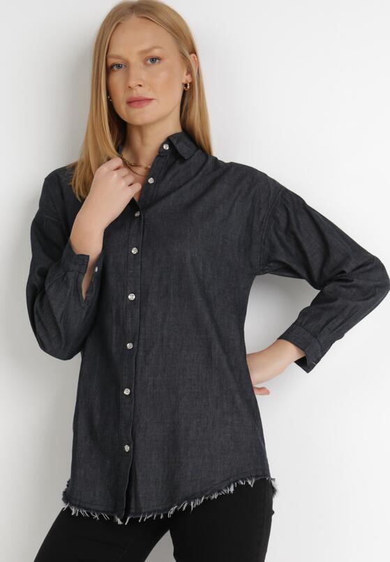 Czarna Koszula Leuriope