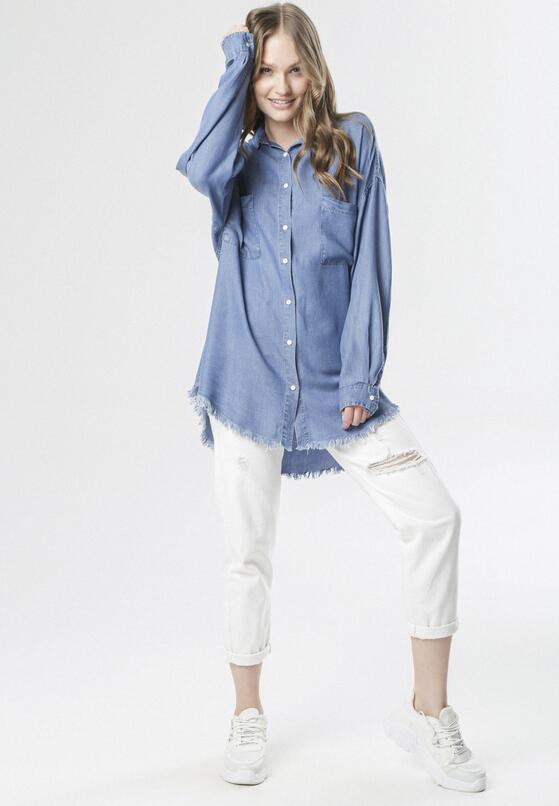 Niebieska Koszula Olenoe