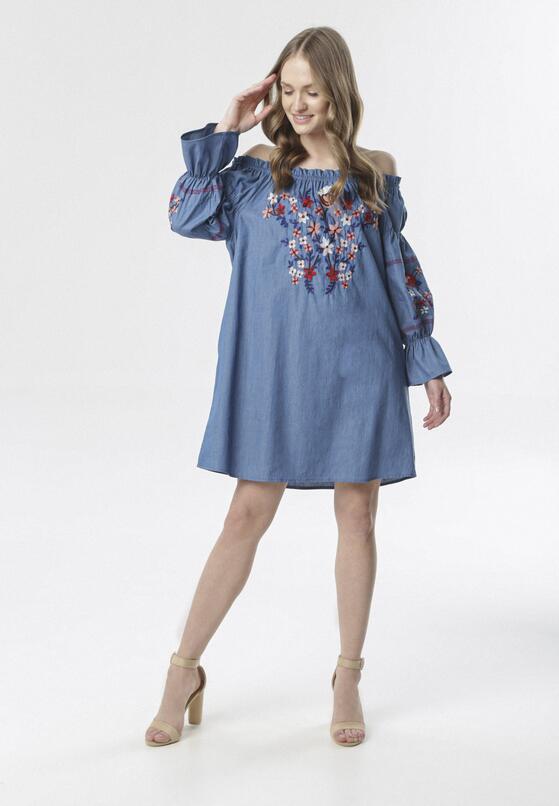Niebieska Sukienka Dorimine