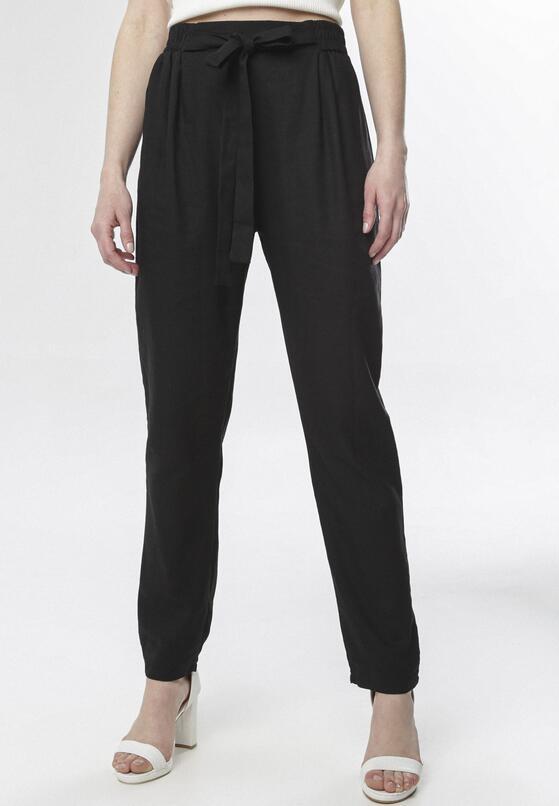 Czarne Spodnie Phioronei