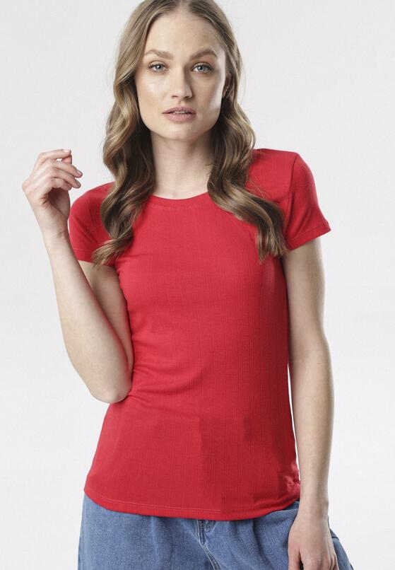 Czerwony T-shirt Chenelin