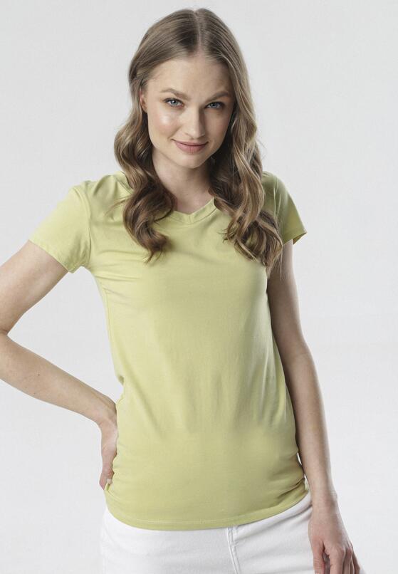 Jasnozielony T-shirt Mariviane