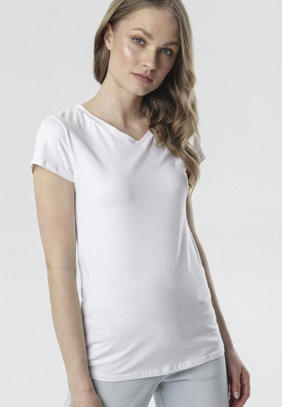 Biały T-shirt Mariviane