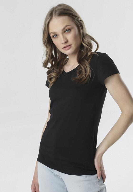 Czarny T-shirt Mariviane