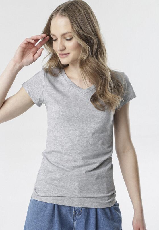 Szary T-shirt Mariviane