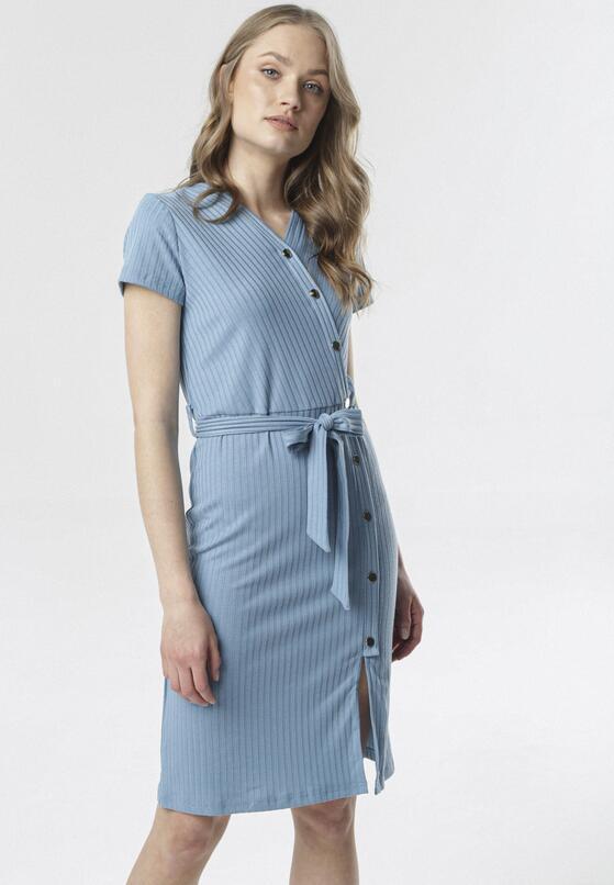Niebieska Sukienka Nemencine