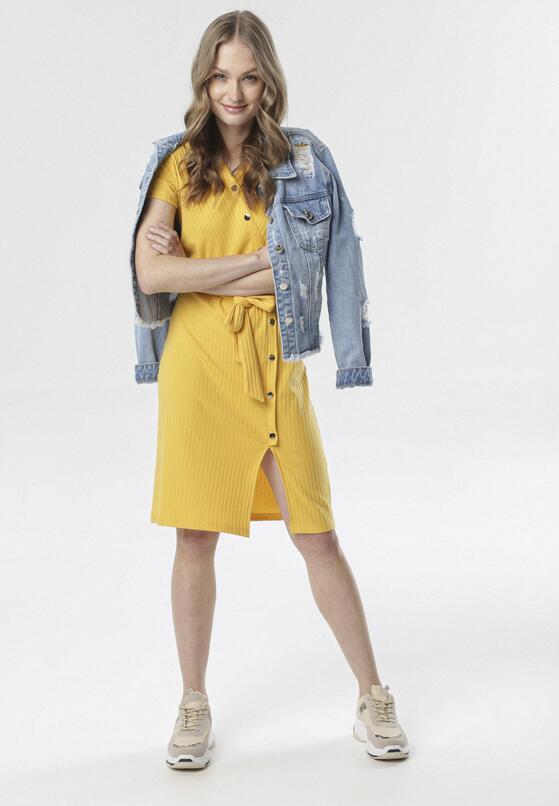 Żółta Sukienka Nemencine