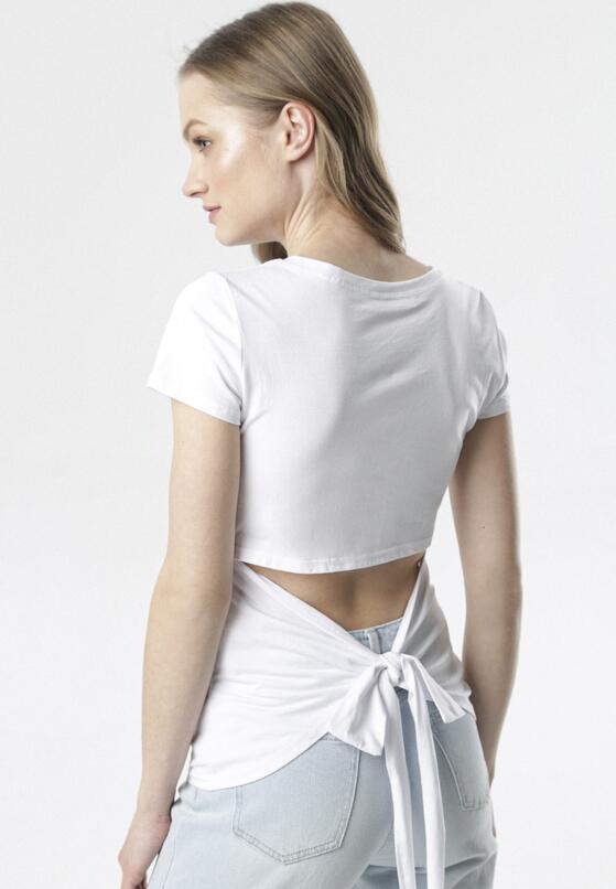 Biały T-shirt Borlopei