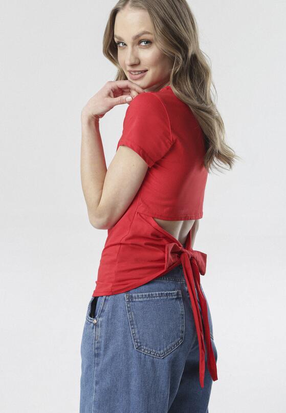 Czerwony T-shirt Borlopei