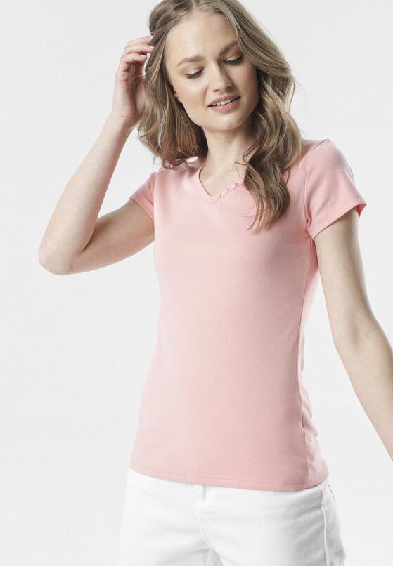Jasnoróżowy T-shirt Melimine