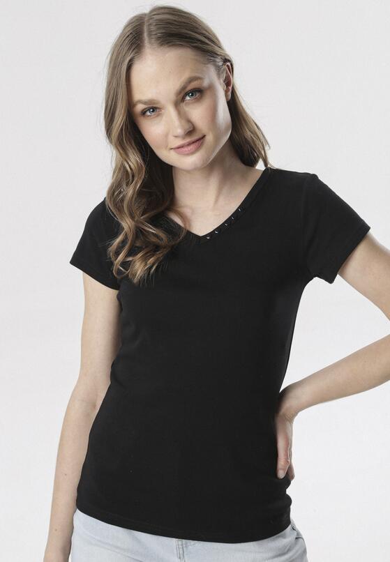 Czarny T-shirt Melimine