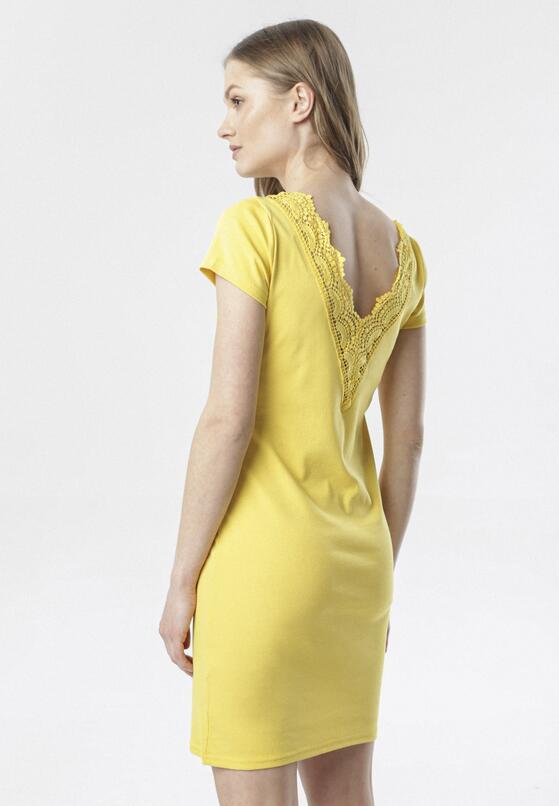 Żółta Sukienka Kymere