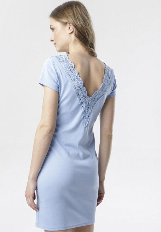 Niebieska Sukienka Kymere