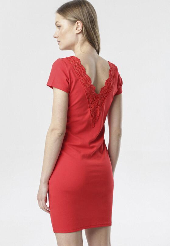 Czerwona Sukienka Kymere