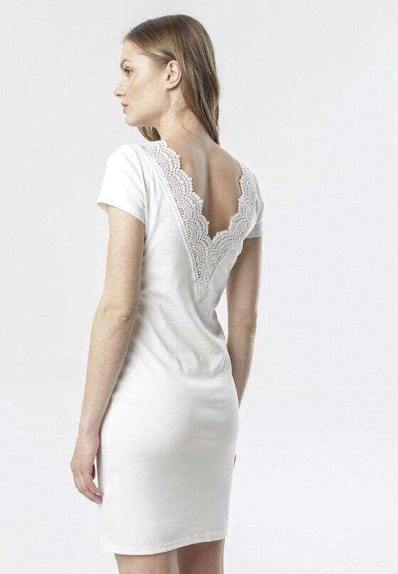 Biała Sukienka Kymere